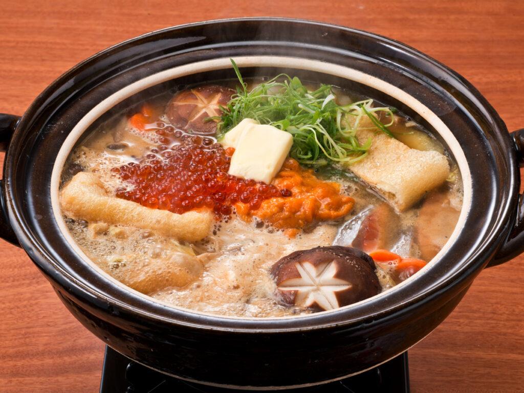 石狩鍋,北海道,愛奴,三平汁,