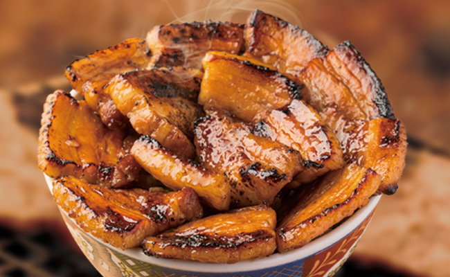 鄉土料理,豬肉丼,知床,十勝